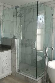 Frameless Shower Door Corner Frameless Shower Door Knee Wall Shower Door Experts