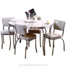Retro Red Kitchen Chairs - retro chrome kitchen chairs m4y us