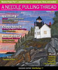 a needle pulling thread festive 2008 sampler by anptmag issuu