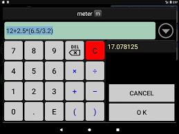 3 5 M To Feet Convertpad Unit Converter Android Apps On Google Play
