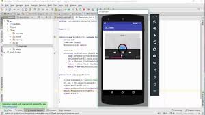 tutorial java play 29 how to play video in android studio videoview tutorial youtube