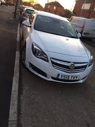 opel insignia 2015 vauxhall insignia 2015 manual white pco uber taxi ready in