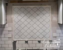 tile accents for kitchen backsplash arabesque tile backsplash home tiles