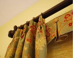 How To Make A Pelmet Valance Bedroom How To Make Pinch Pleated Drapes Beautiful With Grey