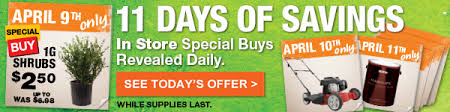 spring black friday saving in home depot home depot starts now spring black friday milled