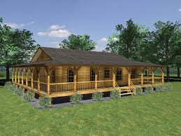 cabin plans with porch exle one ranch farmhouses with wrap around porches