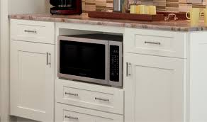 in cabinet microwave microwave cabinet schrock cabinetry where to