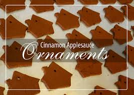 cinnamon applesauce ornaments cooking with amanda