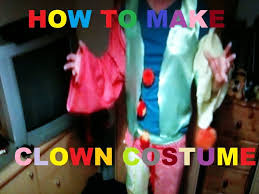 kids halloween clown costumes how to make a cheap and easy clown costume youtube