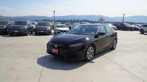 lexus used kelowna 2017 honda civic lx hatchback harmony honda black u5673