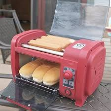 How Long To Cook Hotdogs In Toaster Oven Amazon Com Dog Roller And Toaster Dog Rooler Kitchen