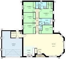 plan de maison 4 chambres gratuit plan maison 4 chambres plain pied gratuit fizzcur