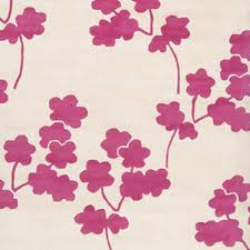 Jill Rosenwald Rugs Rosenwald Studio Zuna Floral Pink