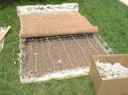 recycling a mattress and box spring u2013 trashmagination