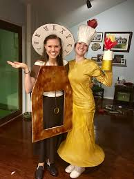 cogsworth and lumiere diy halloween costumes life ness