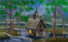 house in the swamp sketch stock vector art 518677726 istock