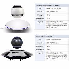 vwar portable wireless floating orb bluetooth wireless stereo