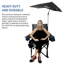 Chair Umbrellas With Clamp Amazon Com Solpro Clamp On Shade Umbrella 4 Way Clamp Umbrella