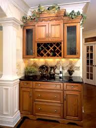Mouser Bar And Wine Cabinet Gallery Kitchen Cabinets Atlanta GA - Kitchen cabinets photos gallery