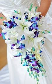 blue wedding flowers flowers blue orchids