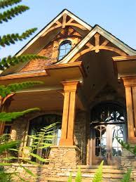 nantahala house plan u2014 rustic mountain timber frame home plans