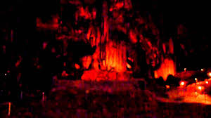 the caverns god created earth in 7 days light show youtube