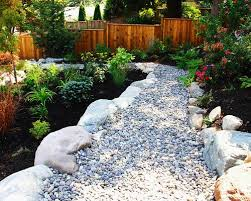 river rock garden houzz