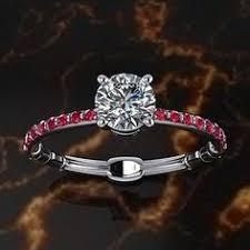Star Wars Wedding Rings by Star Wars Inspired Lightsaber Engagement Ring Lightsaber Star