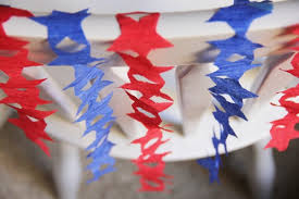 fourth of july decorations fourth of july diy streamers july recipes