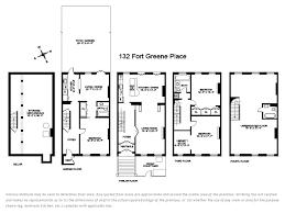 Brooklyn Brownstone Floor Plans 132 Fort Greene Place Fort Greene Stribling U0026 Associates