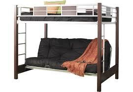 Ivy League Cherry  Pc Full Futon Loft Bed BunkLoft Beds Dark Wood - Rooms to go bunk bed