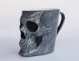 coffee mug skull coffee mug inirva