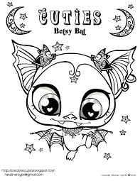 creative cuties betsy bat free printable coloring