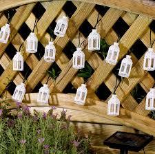 outdoor string lights solar solar powered moroccan lantern string lights 16 leds photobridge