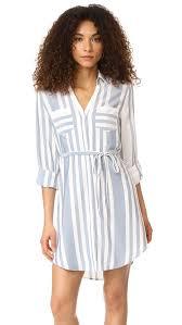 cupcakes and cashmere steele stripe shirtdress shopbop