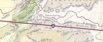 Route 66 California Map by The U201ccar Ification U201d Of Scenery In The U201ccars U201d Franchise Pixar