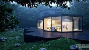 hexagonal house project on behance