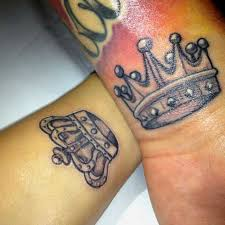 51 best king and queen tattoos for men images on pinterest
