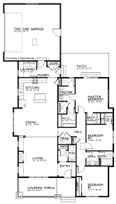 Narrow House Plan Home Design Craftsman Bungalow House Plans Beach Style Expansive