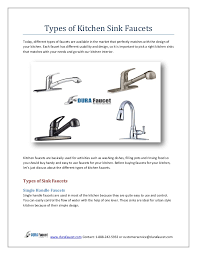 types of faucets kitchen typesofkitchensinkfaucets 150917061801 lva1 app6891 thumbnail 4 jpg cb 1442470709