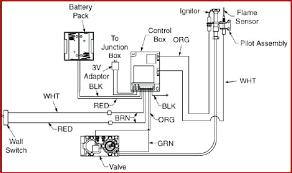 napoleon gas fireplace wiring diagram installation water heater