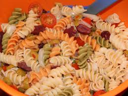 happy u2026 and a recipe for cold pasta puttanesca salad vegan
