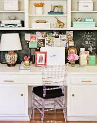 Kitchen Desk Organization The Pink Clutch Kitchen Desk Organization Central