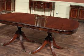 double pedestal dining room table table appealing large oval mahogany double pedestal dining room