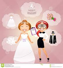 Wedding Coordinator Wedding Planner Stock Illustration Image 43672784