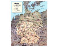 Brussels Germany Map Maps Of Germany Detailed Map Of Germany In English Tourist Map