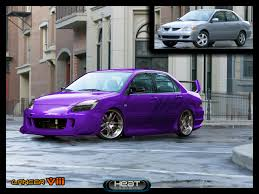 mitsubishi purple mitsubishi lancer viii by dj heat on deviantart