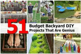 Cheap Backyard Ideas 51 Budget Backyard Diy Projects That Are Genius