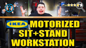 Best Sit Stand Desk by Cheap Motorized Sit Stand Desk Review How Does It Compare Youtube
