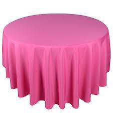 fuchsia 70 inch polyester tablecloths
